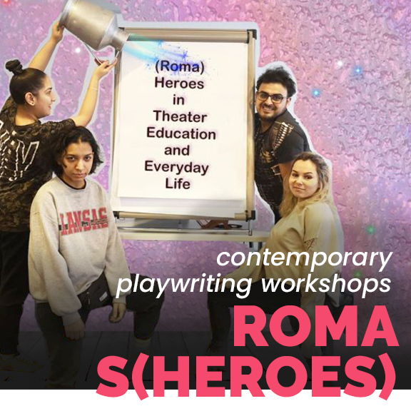 Roma S(heroes) ateliere workshops