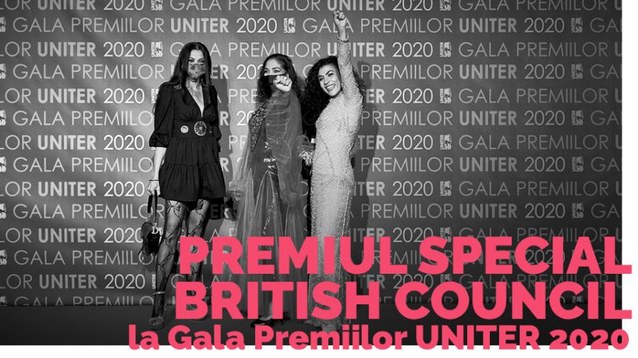 la Gala Premiilor UNITER 2020