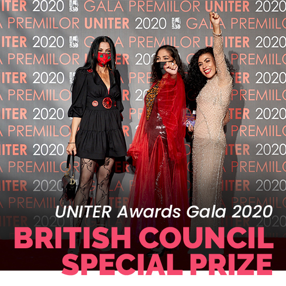 GIUVLIPE Premiul special la gala uniter brisitsh council